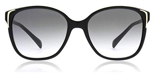 Prada PR01OS Sunglasses-Gray Gradient lens Black (1AB3M1)-55mm ()