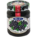 Hero Swiss Preserves Black Current, 12oz