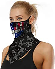 American Flag Paisley Triangle Seamless Tube Bandana Face Mask Scarf Neck Gaiter