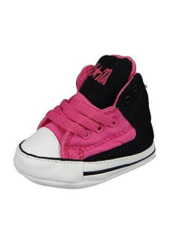 Converse Baby Chucks 854375C Schwarz Pink mit Klettverschluss Mod Pink Black White Mod Pink Black White