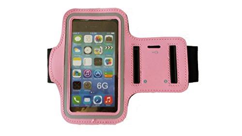 Weili brazo banda deportes correr gimnasio neopreno cubierta de la caja Bolsa de soporte para iPhone 6 rosa