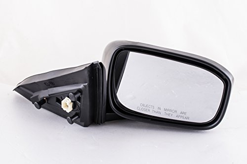 Dependable Direct Right Passenger Side Unpainted Non-Heated Power Folding Door Mirror for Honda Accord COUPE ONLY (Not for Sedan) 2003 2004 2005 2006 2007 - HO1321241