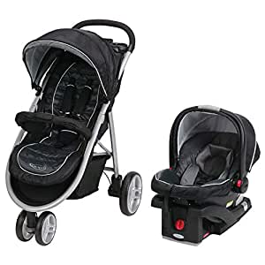 Graco Aire3 Travel System (Stroller and Car Seat), Gotham