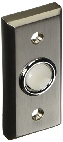 Atlas Homewares DB644-BRN 2.75-Inch Mission Bell from the Mission Collection, Brushed (Brass Finishing Doorbell)