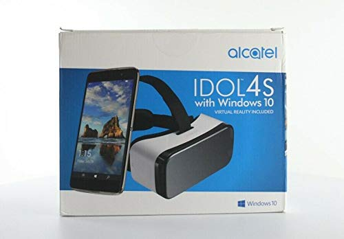 Alcatel IDOL 4S Windows 10 OS 5.5 Inch Unlocked Smartphone with VR Goggles ()