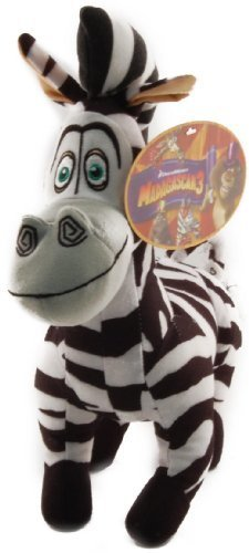ToyFactory Madagascar 3 Marty Plush -