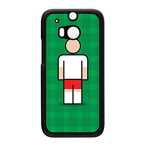 Salzburg Black Hard Plastic Case for HTC? One M8 by Blunt Football European + FREE Crystal Clear Screen Protector