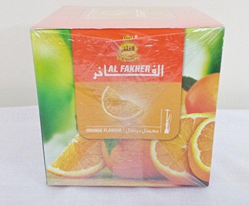 TheMeShoppe 1 Kg. Al Fakher Shisha Molasses - Non Tobacco Orange Flavour Hookah Water Pipe