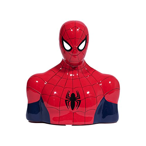 Spiderman Spidey Head Ceramic Bank