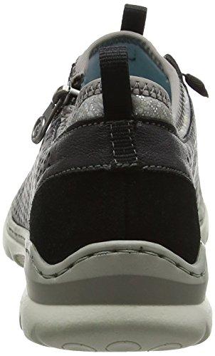 L3277 Basses Sneakers Femme 01 Noir Rieker dvO6txwdq