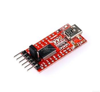 Makerfocus Ft232rl Ftdi Usb To Ttl Serial Adapter 3.3v 5.5v Module Mini Port For Arduino Mini Port 1