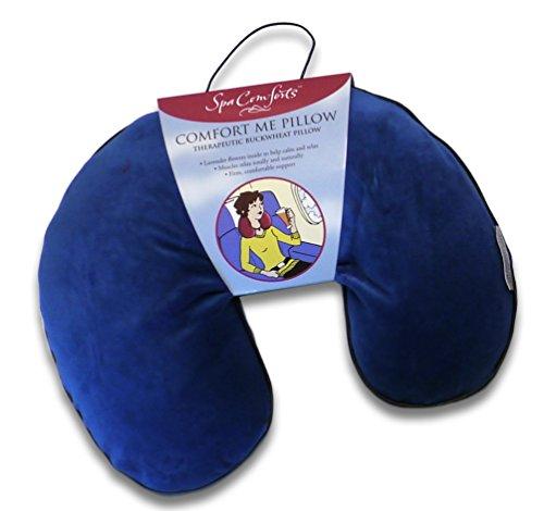Spa Comforts Comfort Me Pillow, Navy