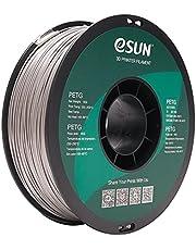 eSUN PETG Gloeidraad 1.75mm, PETG 3D Printer Gloeidraad, Dimensionale Nauwkeurigheid +/- 0.05mm, 1KG (2.2 LBS) Spoel 3D Printen Materiaal voor 3D Printer