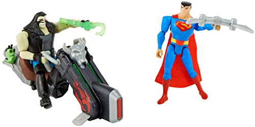 DC Justice League Action Superman Vs. Lobo Figures
