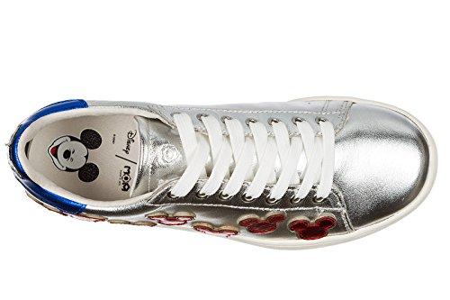 Damenschuhe Arts Moa Damen Turnschuhe Master Leder of Schuhe Sneakers Silber 4R4qw7xtg