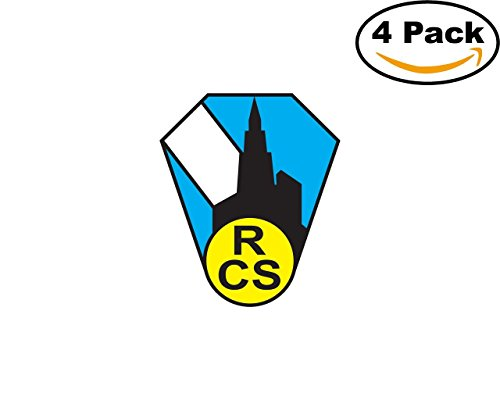 fan products of Racing Strasbourg France Football Club Soccer FC 4 Sticker Decal 4X4