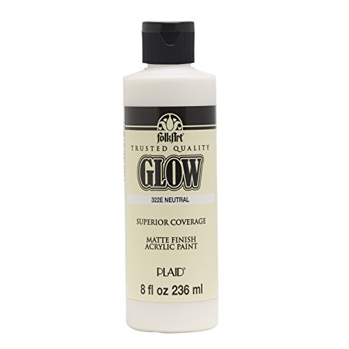 FolkArt 322E Glow in The Dark Paint, 8 oz, Neutral]()