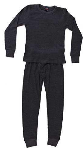95362-Charcoal-5/6 At The Buzzer Thermal Underwear Set for Boys (Thermal Clothes For Toddler compare prices)