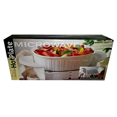 (Tabletop Expandable Microwave Granite Stone Hot Plate)