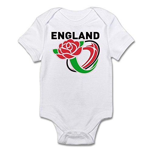 CafePress Rugby England - Cute Infant Bodysuit Baby - England Rugby Clothes