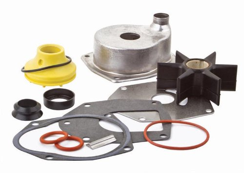 SEI MARINE PRODUCTS Mercury Mariner Water Pump Kit 817275A 6 200 225 HP 3.0 1994-2006 W//Housing