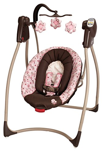 Big Save! Graco Comfy Cove DLX Swing, Madison