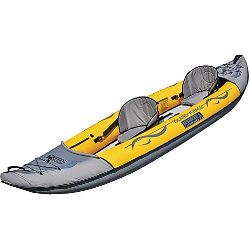 ADVANCED ELEMENTS Island Voyage 2 Inflatable Kayak, Yellow For Sale