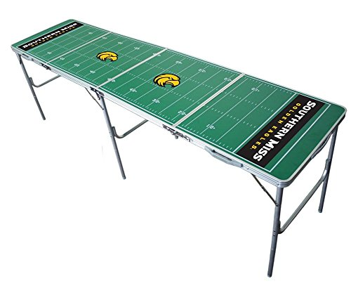 Southern Miss Golden Eagles 2x8 Tailgate Table by Wild Sports -