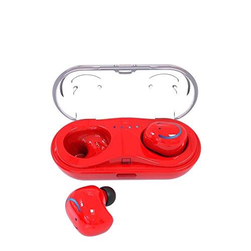 TOOGOO Mini True Wireless Twins Bluetooth Earbuds Sports Blu