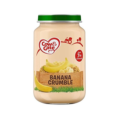 Cow & Gate Stage 2 Jar Banana Crumble 200g - Pack of 6