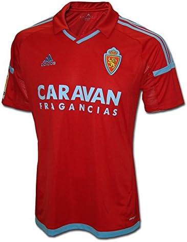 adidas Real Zaragoza Camiseta de Equipación, Hombre: Amazon.es: Ropa y accesorios