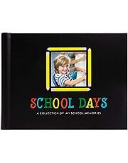 Pearhead School Days Memory Photo Album, Keepsake Scrapbook from Preschool Through 12th Grade