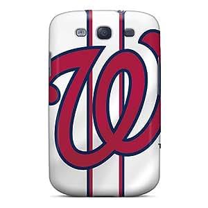 Galaxy S3 Case Cover Skin : Premium High Quality Washington Nationals Case