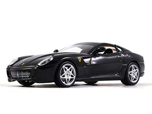 (Ferrari 599 GTB Fiorano Black 1:43 Scale Diecast Model Sports Car 2006 Year)