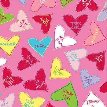 Day Beverage (Candy Crush Valentine's Day Beverage Napkins 18 Per Pack)