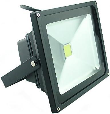 4PCS Warm White QUANS 10W 12V 24V DC AC LED Flood Light Lamp Floodlight Security Outdoor Waterproof Ultra Bright Black