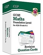 New Grade 9-1 GCSE Maths AQA Revision Question Cards - Foundation (CGP GCSE Maths 9-1 Revision)