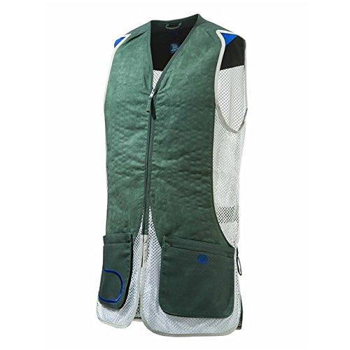 Beretta Mens DT11 Mesh Eco Suede Vest; Green; M