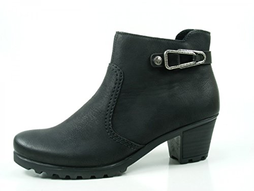 Boots 00 Y8089 Rieker Ankle Women SCHWA SCHW schwarz black En4xgPvwRq