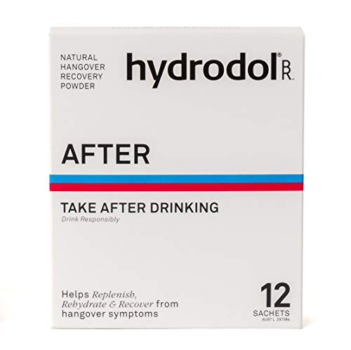 Hydrodol, Natural Hangover Relief. After Relief.