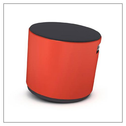 Turnstone Buoy Stool: Chile Base - Tornado Buzz2 Upholstery for sale  Delivered anywhere in USA