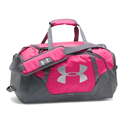 Under Armour Undeniable 3.0 Small Duffle Bag, Tropic Pink (654)/Silver