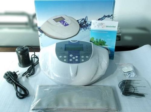 EHM Ionic Foot Detox Machine Foot Detox Machine Ion Foot Bath Spa Cell Cleanse with Massage Far Infrared by LTD