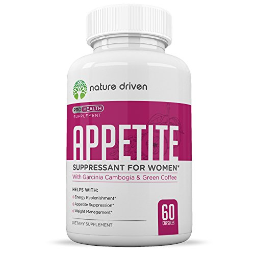 Best Appetite Suppressant for Women - Superior Weight Loss Formula - Powerful Natural Ingredients - Increase Energy - Boost Metabolic Rate - One Month Supply - Nature Driven
