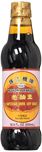 Soy Sauce, Pearl River Bridge Superior Dark ,16.9-Ounce Plastic ()