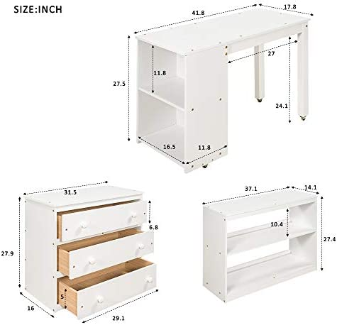 Low Study Twin Size Loft Bed Frame Review