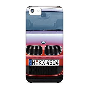 Rugged Skin Cases Covers For Iphone 5c- Eco-friendly Packaging(bmw 1 Series Coupe Front)