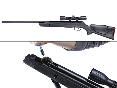 Gamo 6110017154 Varmint Air Rifle .177 Cal (Rifle + Pellet Pen Bundle)