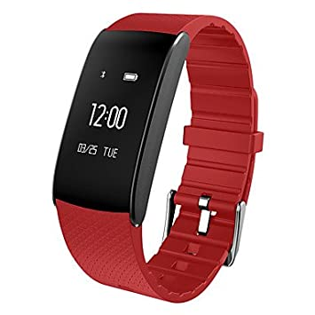 A86 Pulsera inteligente para mujer / Reloj inteligente / Ritmo cardíaco / Oxígeno sanguíneo / Monitoreo de la presión arterial Fatigue para la aplicación ...
