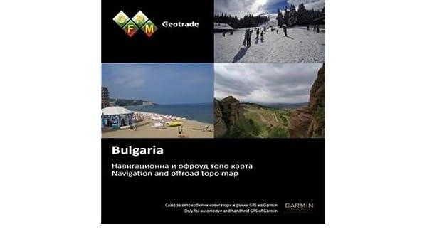 Amazon Com Garmin Microsd Sd Card Topo Bulgaria Ofrm Geotrade